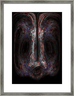 The Painter Framed Print by Christopher Gaston