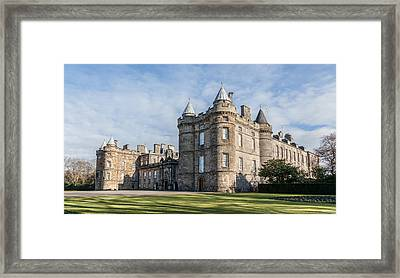 The Palace Of Holyroodhouse Framed Print