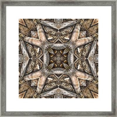 The Palm Project 16 Square Framed Print by Wendy J St Christopher