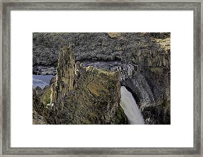 The Palouse Falls Framed Print