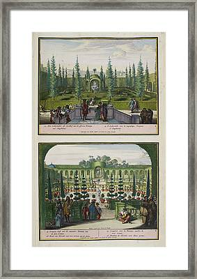 The Park At Enghien Framed Print