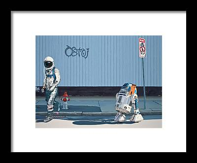 Science-fiction Framed Prints