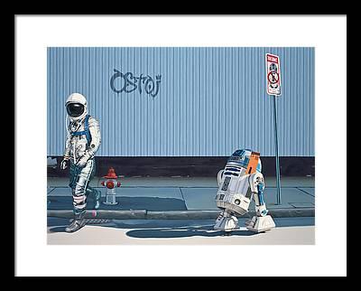Science Fiction Art Framed Prints