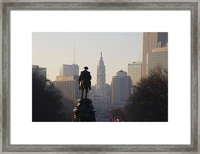 The Parkway End To End Framed Print