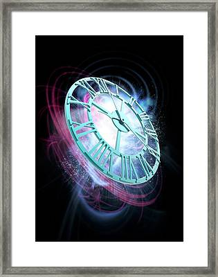 The Passing Of Time Framed Print