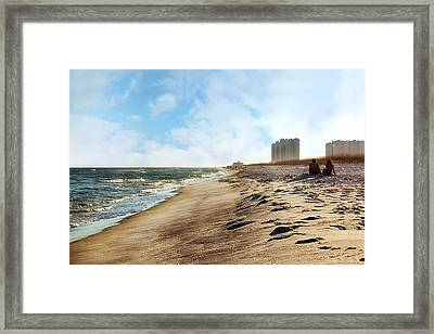 The Perfect Date Framed Print by Sennie Pierson