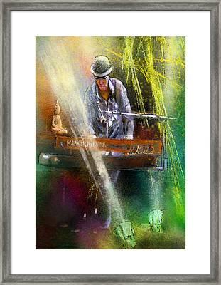 The Pianist 04 Framed Print by Miki De Goodaboom