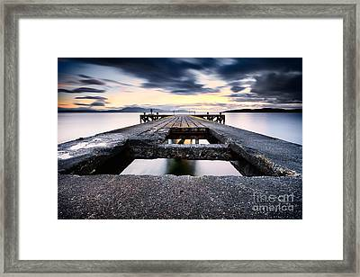 The Pier Framed Print by John Farnan