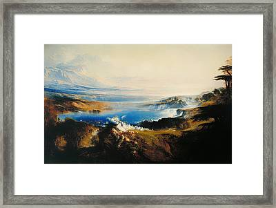 The Plains Of Heaven Framed Print by Mountain Dreams