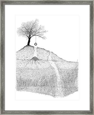 The Playground Framed Print by Carl Genovese
