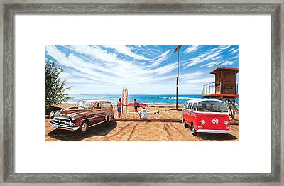 The Point San Onofre Framed Print