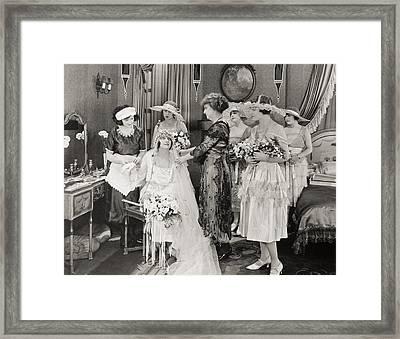 The Power Within, 1921 Framed Print by Granger