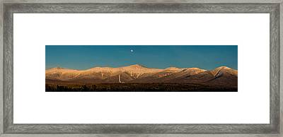 The Presidential Range White Mountains New Hampshire Framed Print