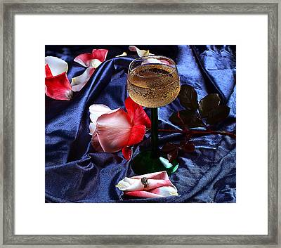 The Proposal Framed Print by Camille Lopez