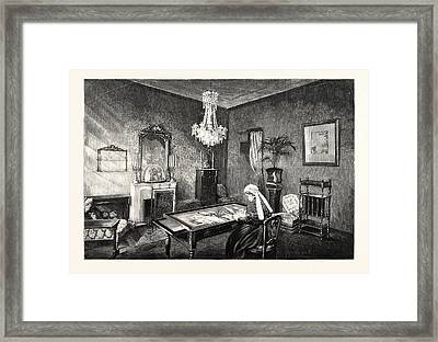 The Queens Visit To Grasse The Royal Apartments Framed Print