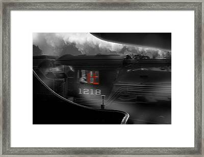 The Race Framed Print by Mike McGlothlen