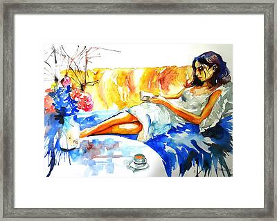 The Reader Framed Print