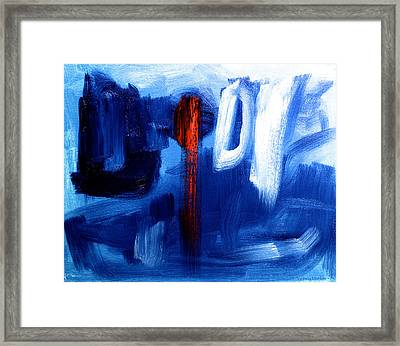The Red One  Framed Print by Sydney Marlow