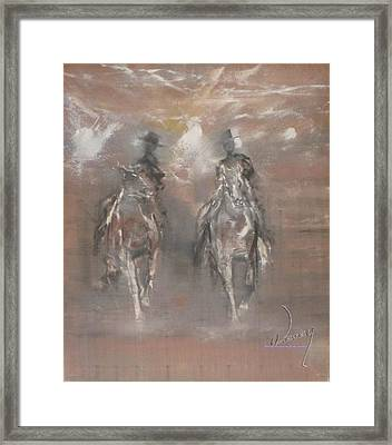The Riders Framed Print
