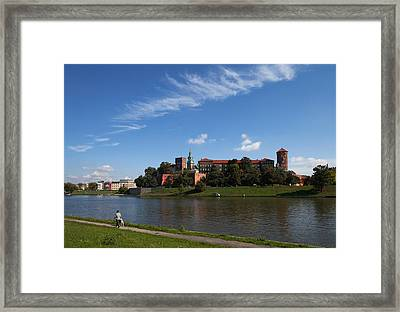 The River Wisla Passing The 11th Framed Print by Panoramic Images