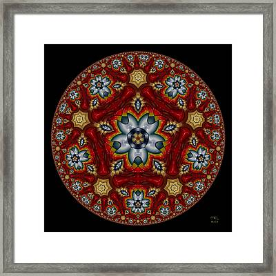 The Road Less Traveled Framed Print by Manny Lorenzo