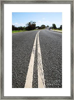 The Road Less Travelled Framed Print by Jorgo Photography - Wall Art Gallery