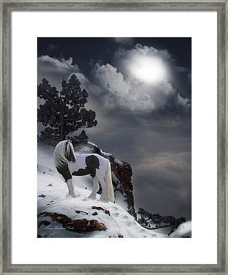 The Rock Framed Print by Terry Kirkland Cook