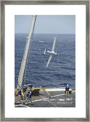 The Rq-21a Small Tactical Unmanned Air Framed Print by Stocktrek Images