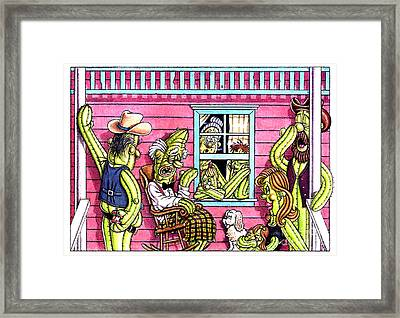 The Same Old Story  Framed Print by Cristophers Dream Artistry