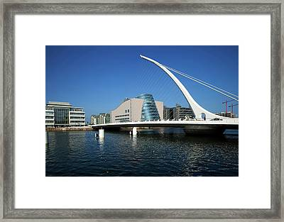 The Samual Beckett Bridge Framed Print by Panoramic Images