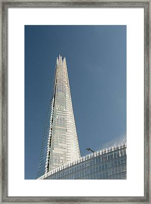 The Shard Rising Above London Framed Print by Ashley Cooper