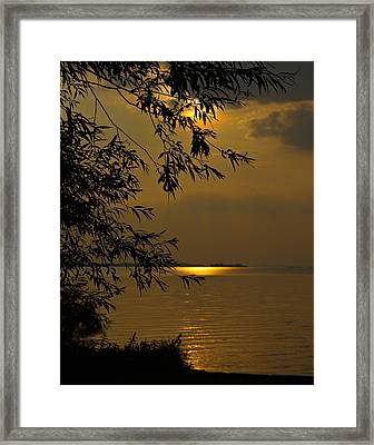 The Shining Light Framed Print
