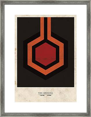 Framed Print featuring the digital art The Shining by Mike Taylor