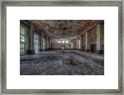 The Show Is Over Framed Print by Nathan Wright