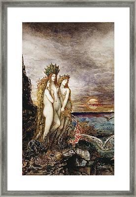 The Sirens Framed Print