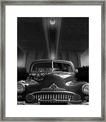 The Snake Framed Print by Larry Butterworth