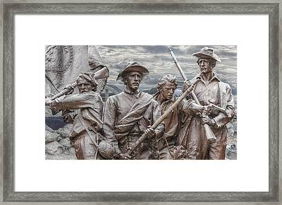 The South Will Rise Again Framed Print by Randy Steele