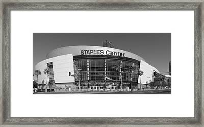 The Staples Center Framed Print by Mountain Dreams