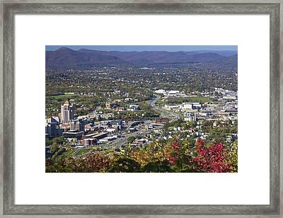 The Star City Framed Print