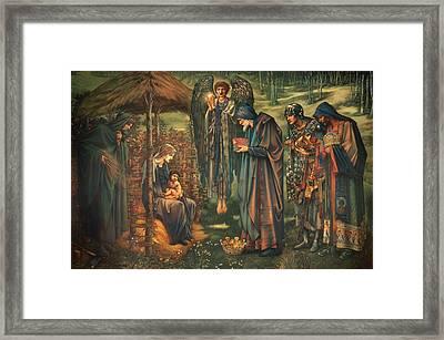The Star Of Bethlehem  Framed Print by Mountain Dreams