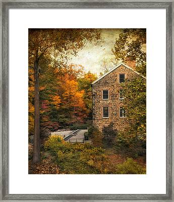 The Stone Mill  Framed Print