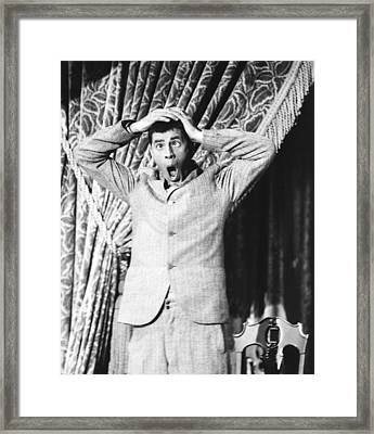 The Stooge, Jerry Lewis, 1952 Framed Print