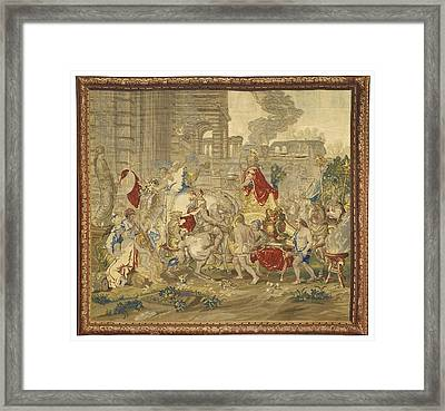The Story Of Alexander Framed Print