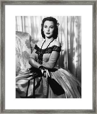 The Strange Woman, Hedy Lamarr, 1946 Framed Print by Everett