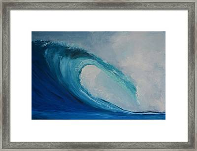 The Surf Framed Print