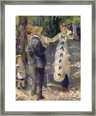 The Swing Framed Print by Mountain Dreams