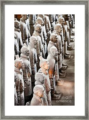 The Terracotta Army Framed Print