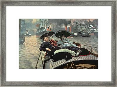 The Thames Framed Print by Celestial Images