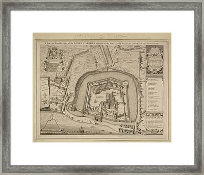 The Tower Of London Framed Print by British Library