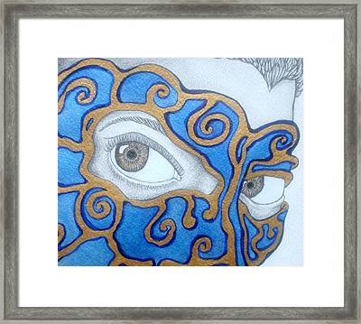 The Traitor I Know Him To Be Framed Print by Benita Solomon